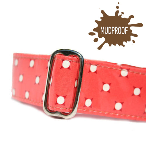 Unlined Mudproof Vintage Dots Buckle or Martingale
