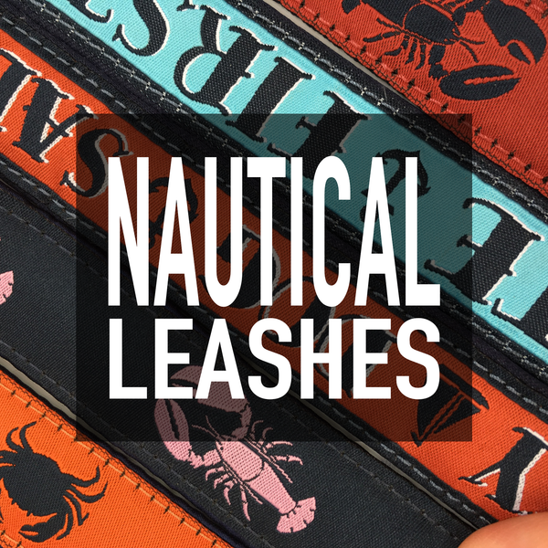 "1"" Nautical Leashes"