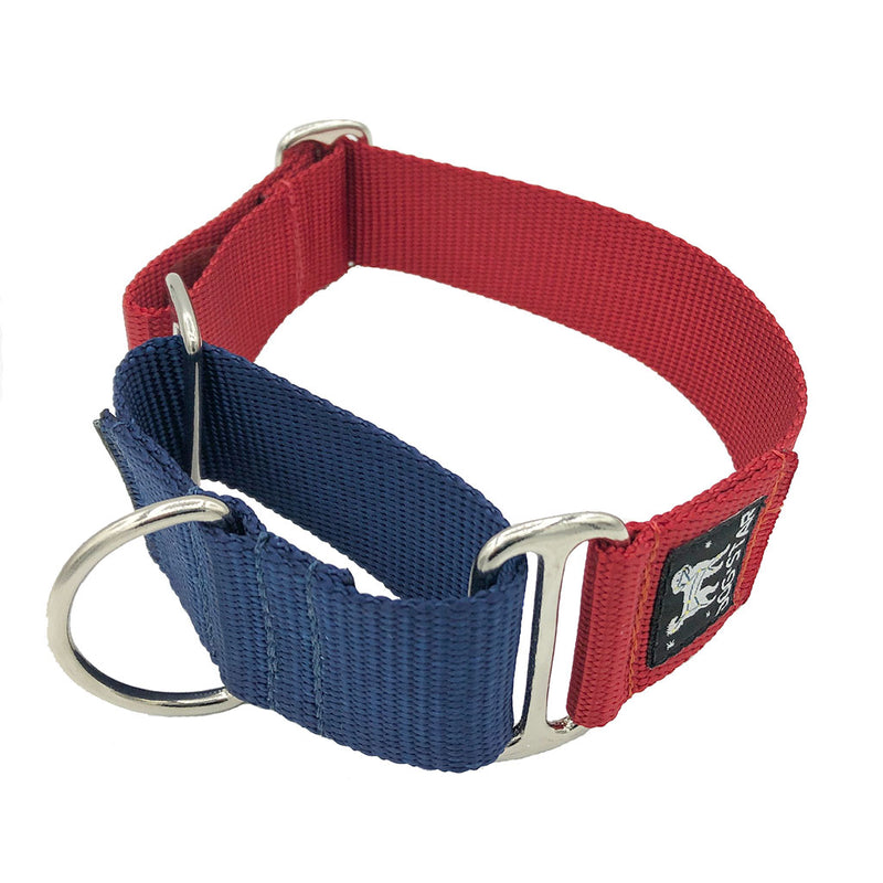 "1.5"" Naked Nylon Valor Martingale"