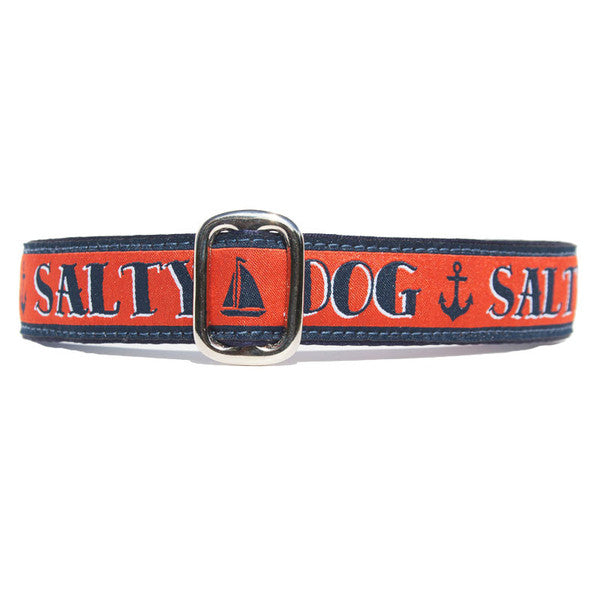 "1"" Unlined Salty Dog Tag Collar"