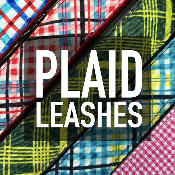 Plaid Leashes