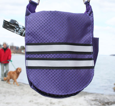 Double Duty Bag - Reflective Purple