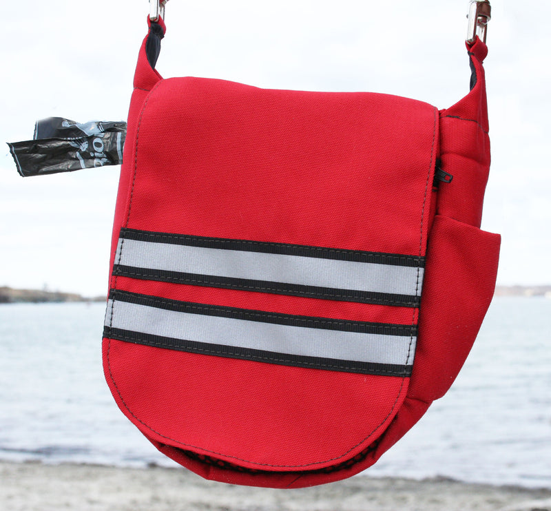 Double Duty Bag - Reflective Red