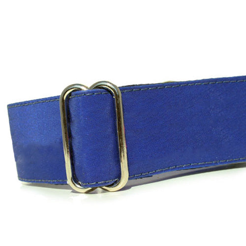 Sailcloth Blue ID Tag Collar