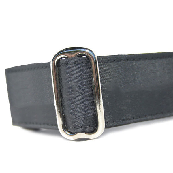 Sailcloth Black Buckle