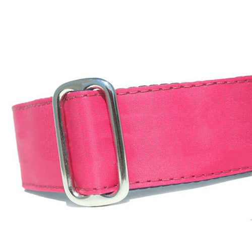 Sailcloth Pink ID Tag Collar