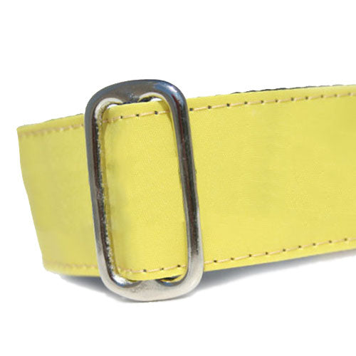 Sailcloth Yellow ID Tag Collar