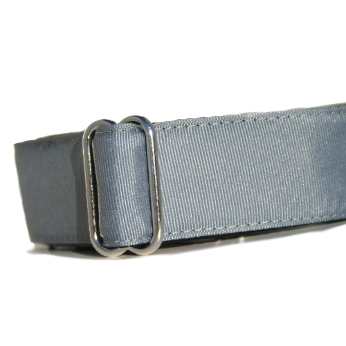 Spectrum Steel Grey ID Tag Collar