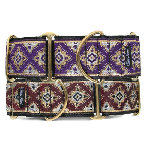 "2"" Morocco Metallic Martingale"
