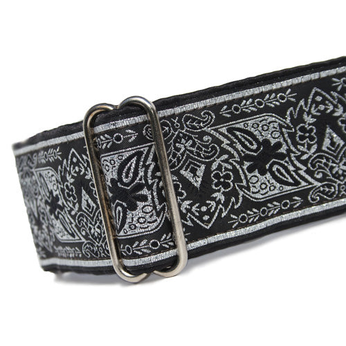 "2"" Filigree Silver Martingale"
