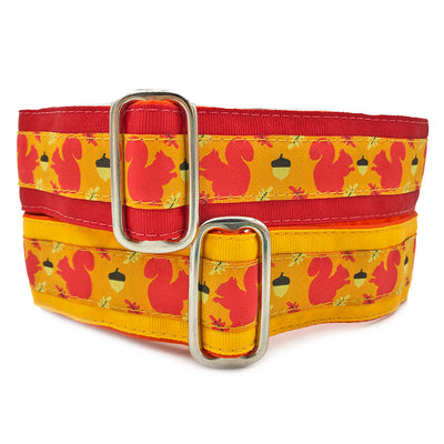 Satin-Lined Squirrel Patrol Martingale