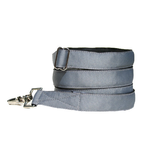Classic Hound Collar Co. | Steel Grey Dog Leash