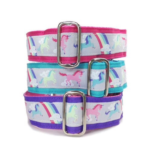 Satin-Lined Unicorns Martingale