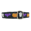 "1"" Satin-Lined Halloween Spirit Tag Collar"