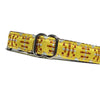 "5/8"" Satin-Lined Aztec Tag Collar"