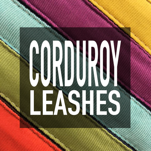 Corduroy Leashes