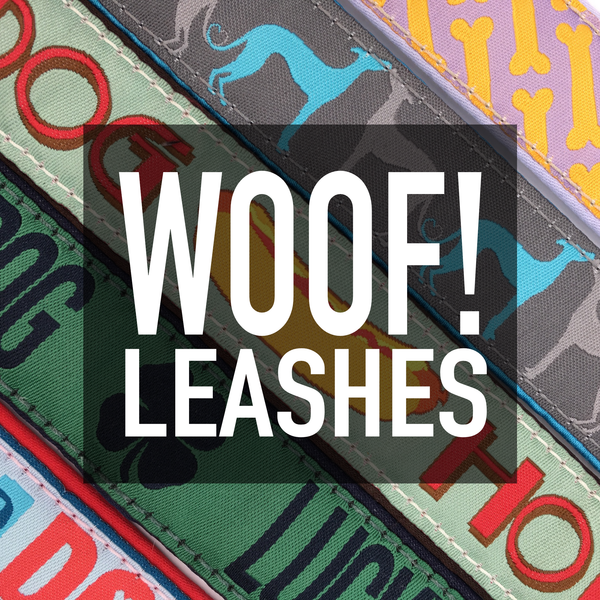 "1"" Woof! Leashes"