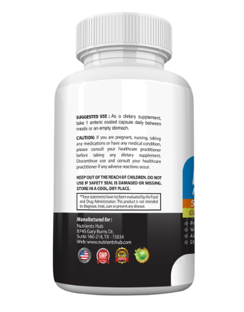 Image of Probiotics 50 Billion CFUs 14 Strains, High Potency Organic Ingredients Supplement, 30 Capsules