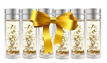 Libre Infuser - Classic Silver 14oz 6-piece Gift Set - Imperfect
