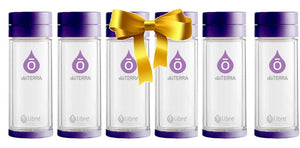 glass travel infusers perfect for essential oil and fruit waters