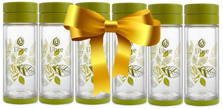 Lively Leaves Green 14oz Gift Set - Libre Canada