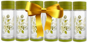 Libre Infuser - Lively Leaves Green 14oz 6-piece Gift Set