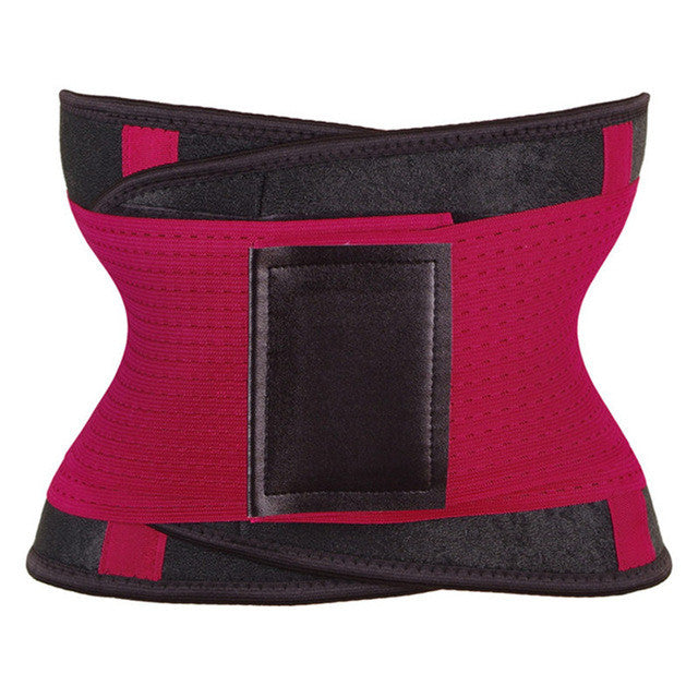 e110d97f0f ... Women Waist Trainer Belt Body Shaper Belly Wrap - Trimmer Slimmer  Compression Band for Weight Loss ...