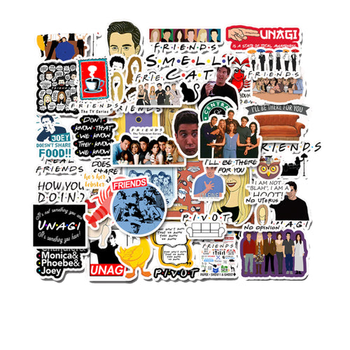 FRIENDS STICKERS (PACK 1) - TheNormalStore