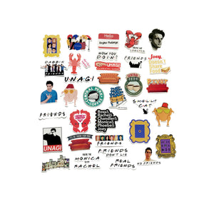 FRIENDS STICKERS (PACK 2) - TheNormalStore