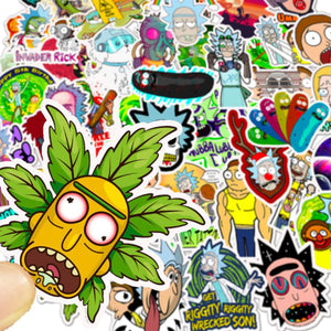 RICK AND MORTY STICKERS - TheNormalStore