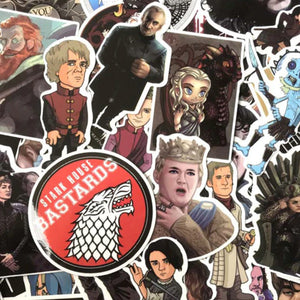 GAME OF THRONES STICKERS - TheNormalStore