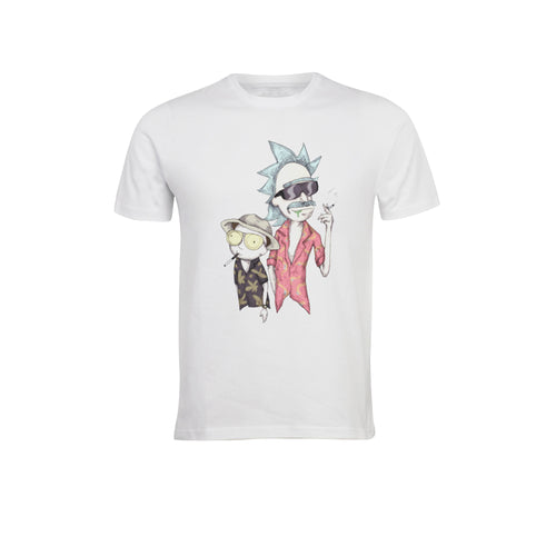 RICK AND MORTY WHITE T-SHIRTS - TheNormalStore