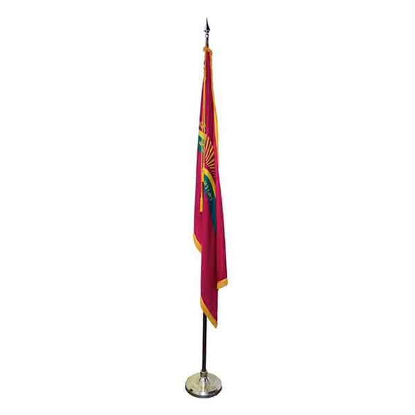 Indoor Qur'anic Flag Base and Pole