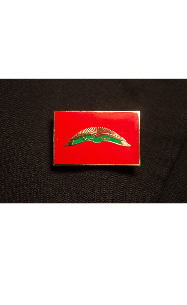 Qur'anic Flag Lapel Pin