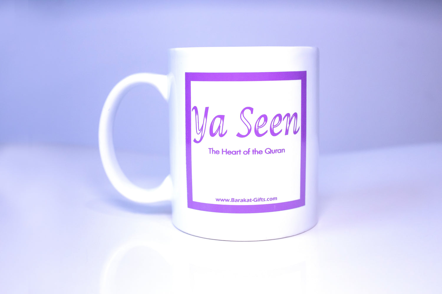 Ya Seen Coffee Mug Purple