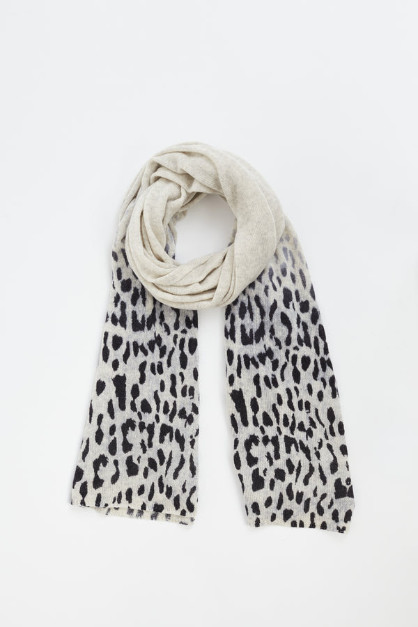 Faded Leopard Wrap