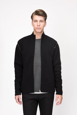 Double Face Zip Jacket