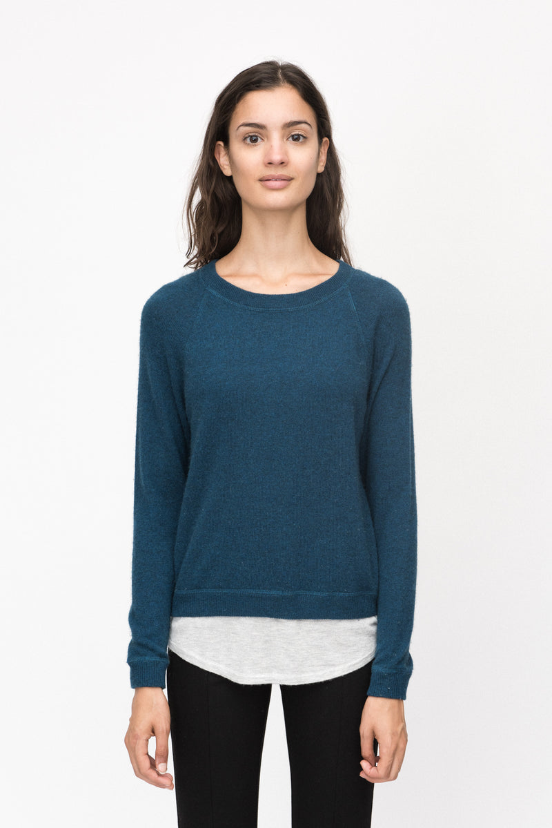 Raglan Two Layer Pullover
