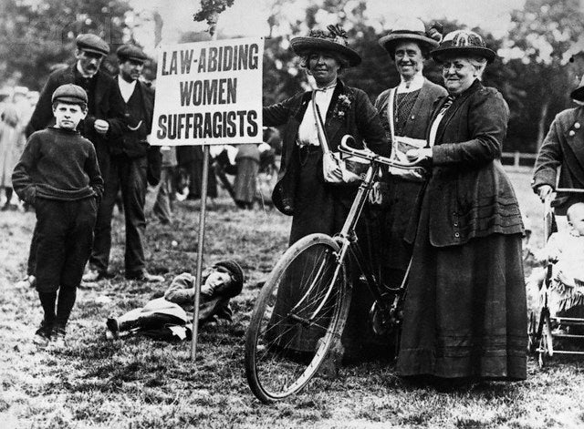 Cycling Towards Women's Liberation