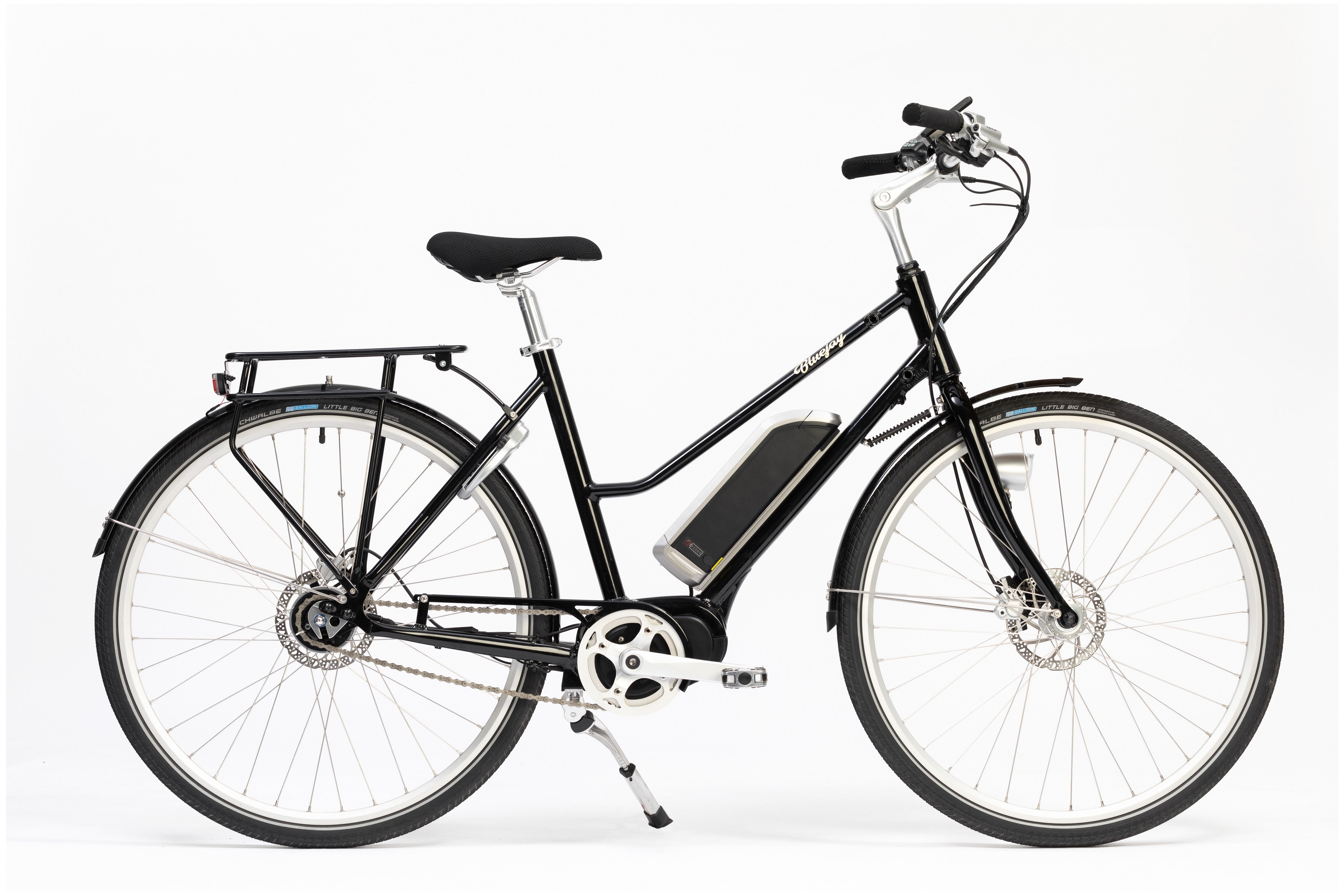 Premiere Edition Bluejay Electric Bicycle in Jet Black