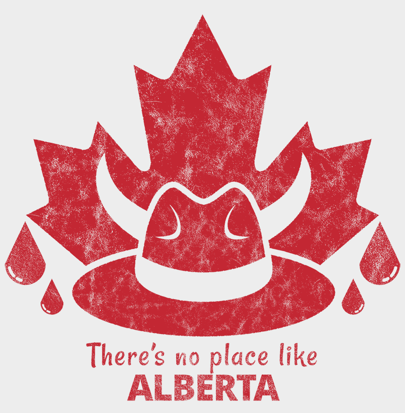 There's no place like ALBERTA Unisex T-shirt - byfor.ca