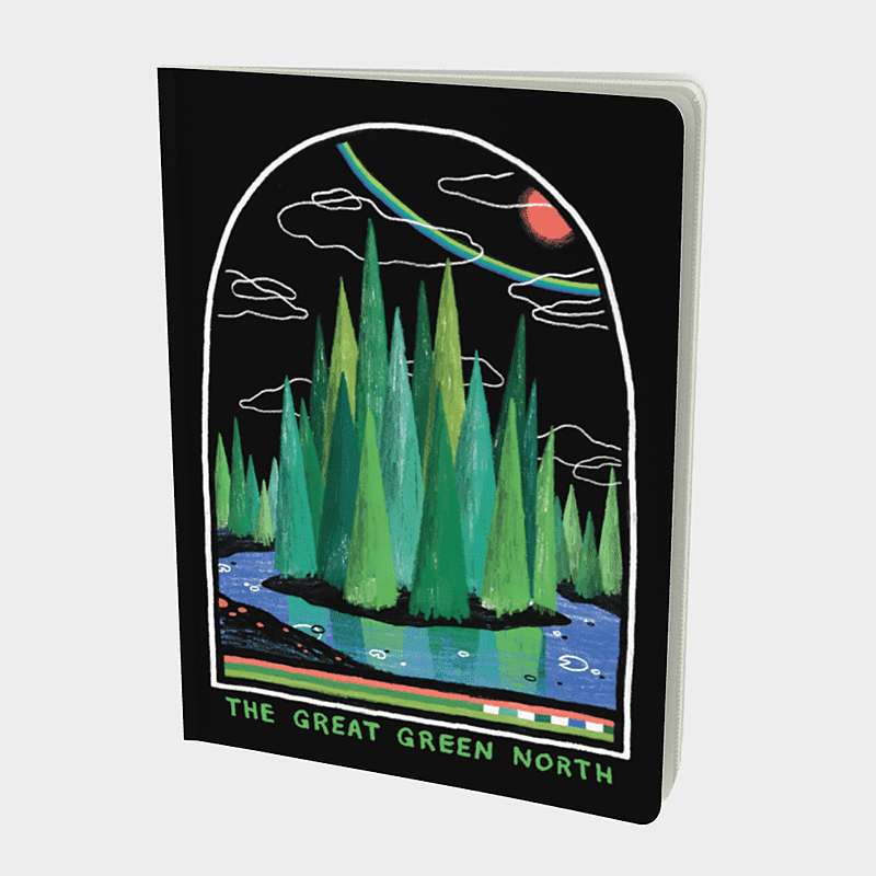 Great Green North Notebook - byfor.ca