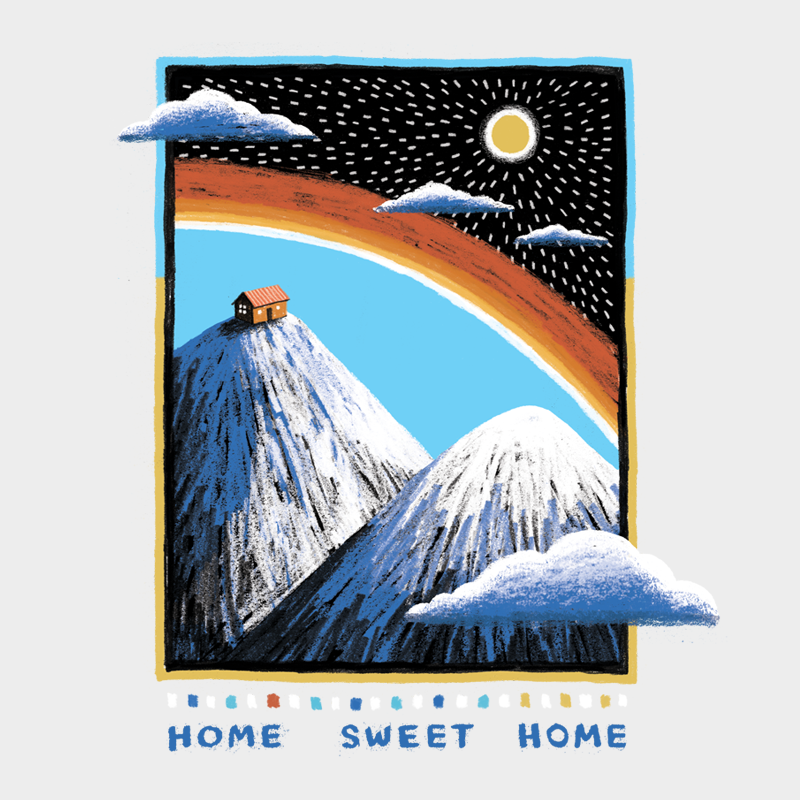 Home Sweet Home Unisex T-shirt - byfor.ca