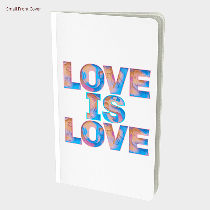 Love Is Love Notebook - byfor.ca