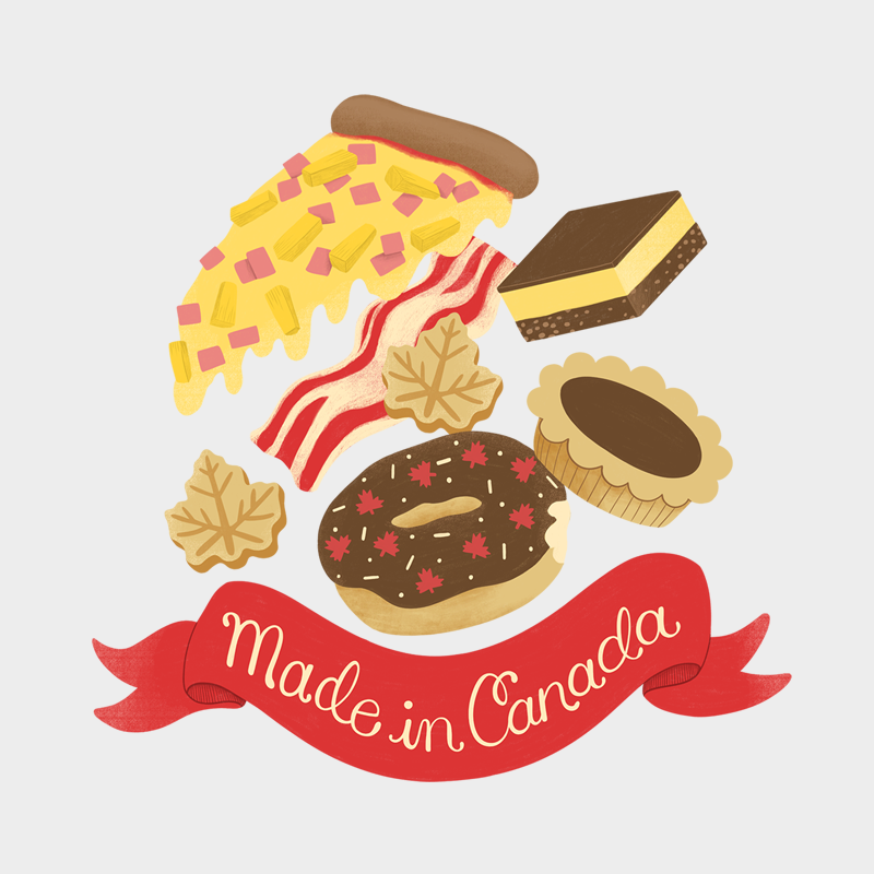 Made in Canada Goodies Unisex T-shirt - byfor.ca