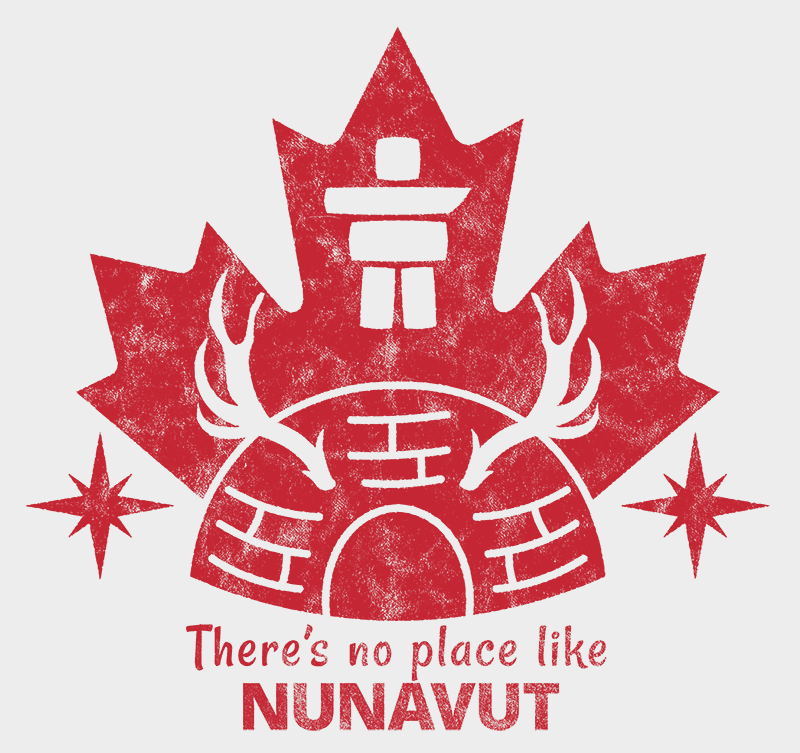 There's no place like NUNAVUT Unisex T-shirt - byfor.ca