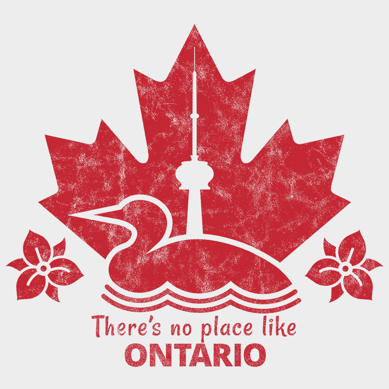 There's no place like ONTARIO Unisex T-shirt - byfor.ca
