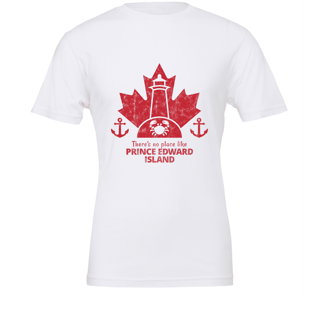 There's no place like PRINCE EDWARD ISLAND Unisex T-shirt - byfor.ca
