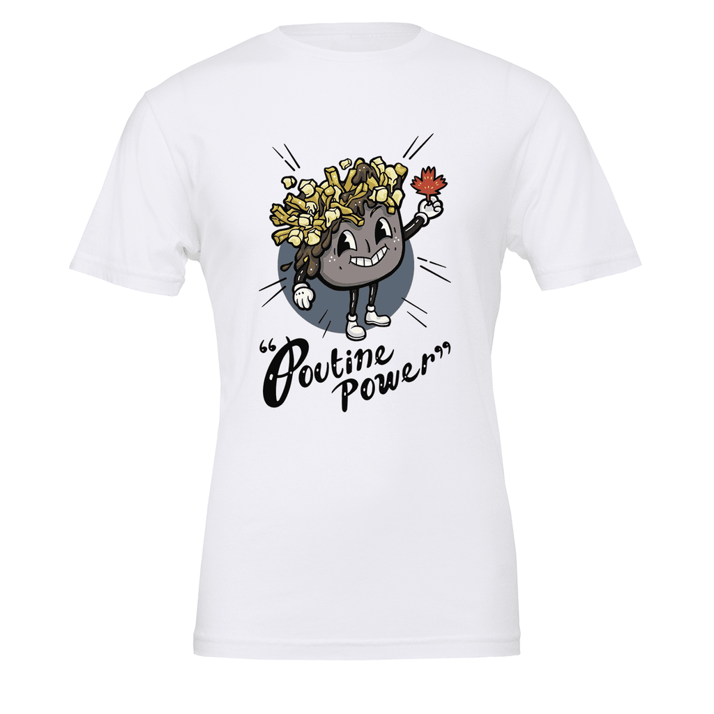 Poutine Power Unisex T-shirt - byfor.ca