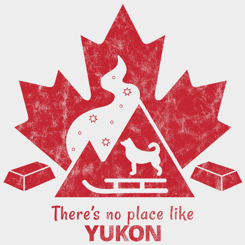 There's no place like YUKON Unisex T-shirt - byfor.ca